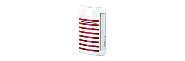 Dupont - Old Lighter Minijet - White red lines