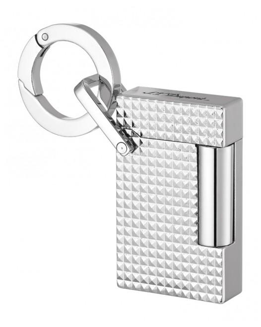 Dupont - keychain lighter - Chrome
