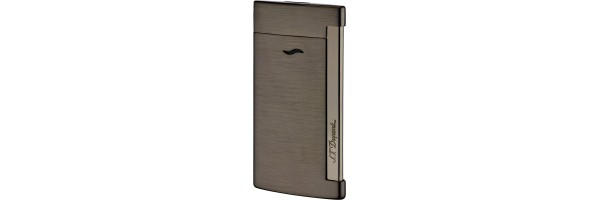 Dupont - 027712 - Accendino Slim 7 - Brushed Gun Metal