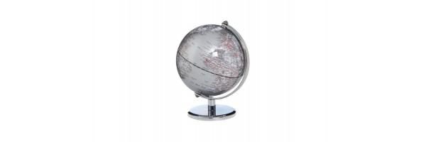 Emform - Mini Globe - Gagarin - Silver