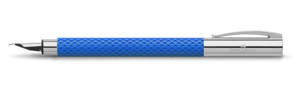Faber Castell - Ambition - Fountain Pen - OpArt Blu Lagoon