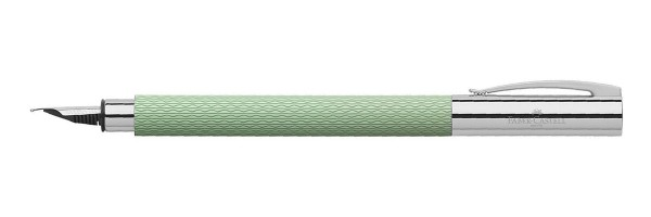 Faber Castell - Ambition - Fountain Pen - OpArt Mint Green