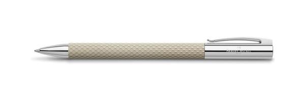 Faber Castell - Ambition - Penna a sfera - OpArt Bianco Sabbia