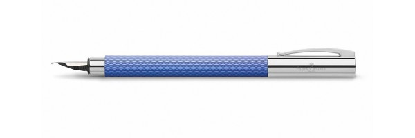 Faber Castell - Ambition - Fountain Pen - OpArt Blu Lagoon