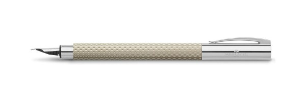 Faber Castell - Ambition - Fountain Pen - OpArt White Sand