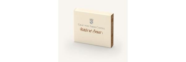 Graf von Faber Castell - Ink Cartridges - Hazelnut Brown