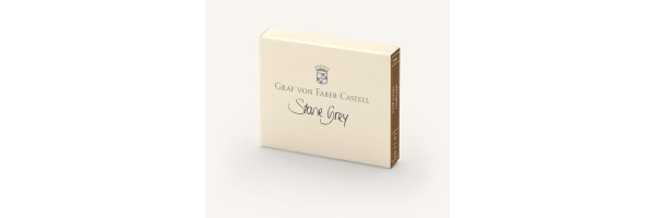 Graf von Faber Castell - Ink Cartridges - Stone Grey