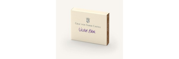 Graf von Faber Castell - Cartucce di Inchiostro - Violet Blue