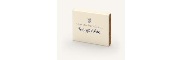 Graf von Faber Castell - Cartucce di Inchiostro - Midnight Blue