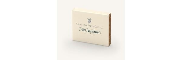 Graf von Faber Castell - Cartucce di Inchiostro - Deep Sea Green