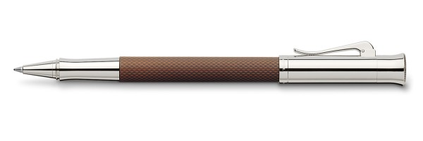 Graf von Faber Castell - Guilloche - Roller Cognac