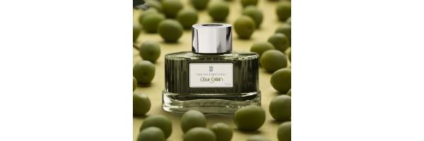 141015 - Graf Von Faber Castell - Ink - Olive Green
