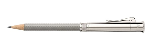 Graf von Faber Castell - Perfect Pencil - Pearl Grey, Guilloche Engraving