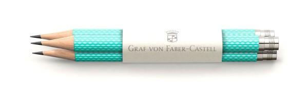 Graf von Faber Castell - 3 Matite - Turchese