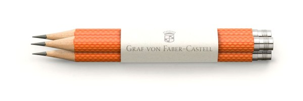 Graf von Faber Castell - 3 Pencils - Orange