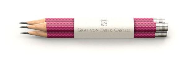 Graf von Faber Castell - 3 Pencils - Fucsia