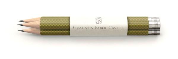 Graf von Faber Castell - 3 Pencils - Olive green