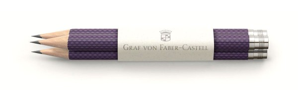 Graf von Faber Castell - 3 Matite - Viola