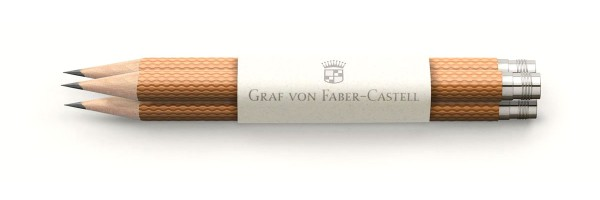 Graf von Faber Castell - 3 Pencils - Cognac