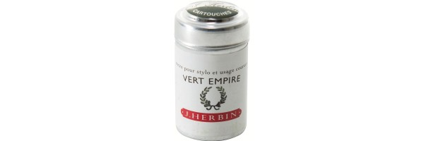 Herbin - Cartridges - Vert Empire