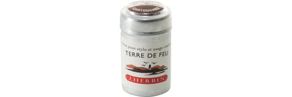 Herbin - Cartridges - Terre de Feu