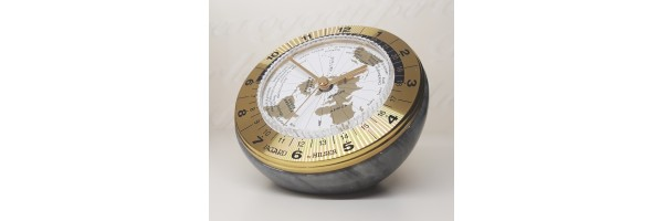 Jaccard - Table Clock -  WT Conte Gold Grey
