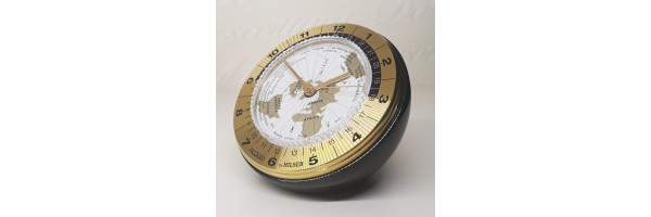 Jaccard - Table Clock -  WT Conte Gold Black Grey