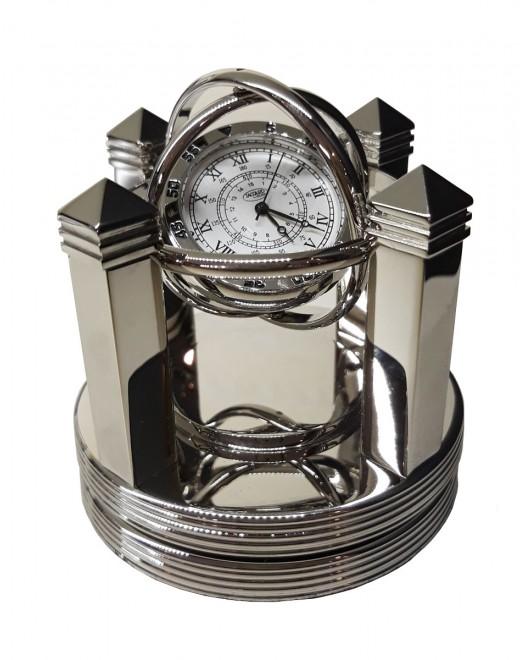 Jaccard - Orologio da Tavolo - Santos Silver