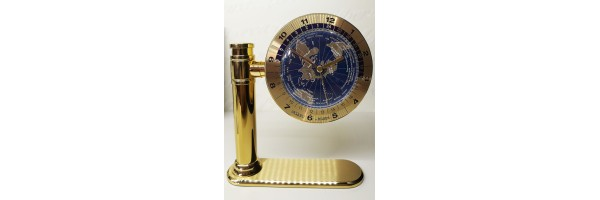 Jaccard - Table Clock - Mondial Gold Blue