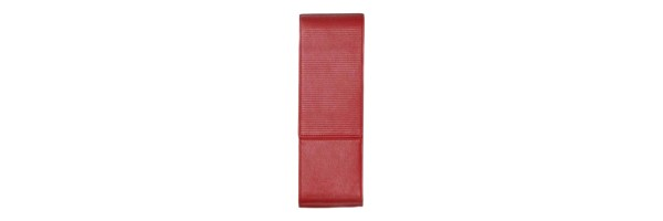 Lamy - Pen Case Lines - For 2 Pens Red