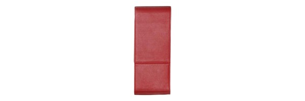Lamy - Pen Case Lines - For 3 Pens Red