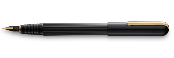 Lamy - Imporium - Stilografica -  Black Matt Gold