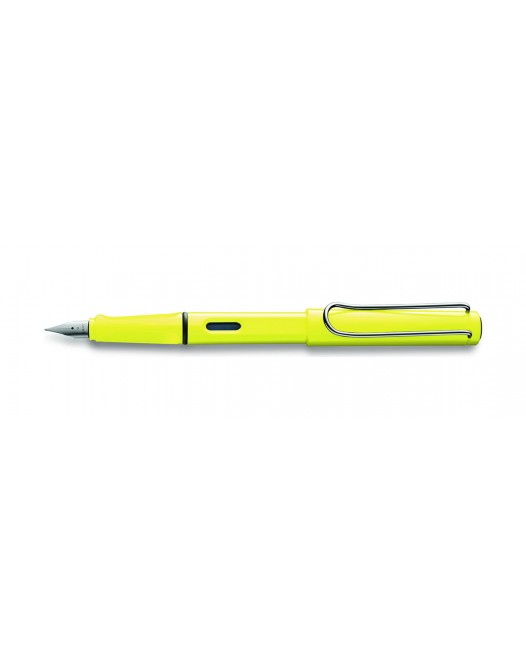 Lamy - Safari ( Special Edition 2013 ) - Fountain Pen - Neon Yellow - Prezzo su richiesta