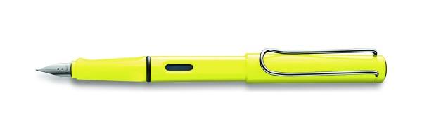 Lamy - Safari ( Special Edition 2013 ) - Fountain Pen - Neon Yellow - Prezzo su richiesta