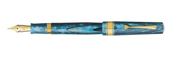 Leonardo Officina Italiana - Cuspide - Blu Sea GT Elastic Nib - Fountain pen