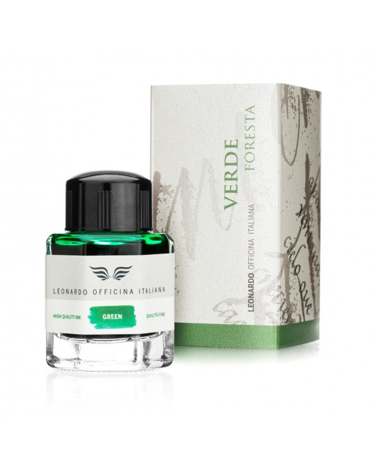 Leonardo Officina Italiana - 40 ml. Ink Bottle - Forest Green