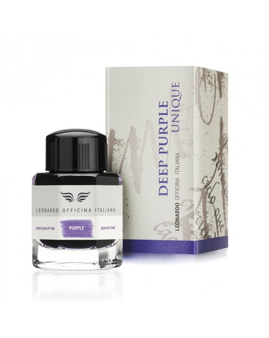 Leonardo Officina Italiana - 40 ml. Ink Bottle - Deep Purple
