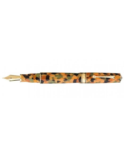 Leonardo Officina Italiana - Momento Zero Grande Arlecchino - Gold trims - Fountain pen