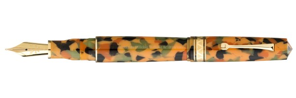 Leonardo Officina Italiana - Momento Zero Grande Arlecchino - Gold trims - Fountain pen