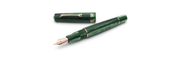 Leonardo Officina Italiana - Momento Zero resin - Green Alga RGT - Fountain pen - Steel nib