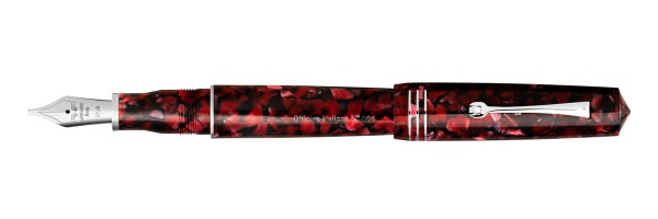 Leonardo Officina Italiana - Momento Zero Grande 2020 - Red Moon - Fountain pen - Steel nib
