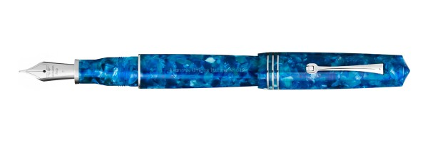 Leonardo Officina Italiana - Momento Zero Grande 2020 - Blue Marina Capri - Fountain pen - Steel nib