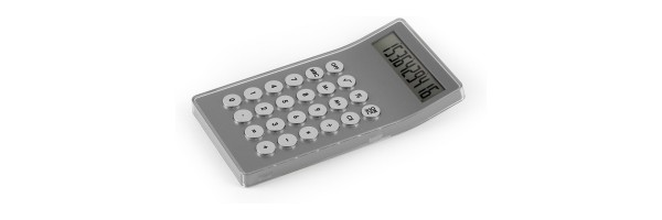Lexon - Calculator - Mastercal - Aluminium
