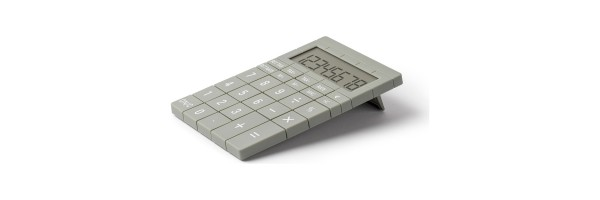 Lexon - Calculator - Mozaik - Light Grey