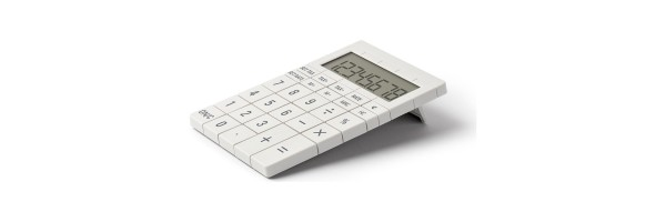 Lexon - Calculator - Mozaik - White