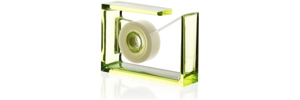Lexon - Crystal - Desk tape dispenser - Roll-Air - Green