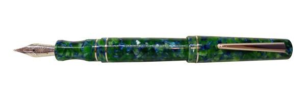 Maiora - Impronte - Emerald Green - Fountain pen Slim - Steel nib