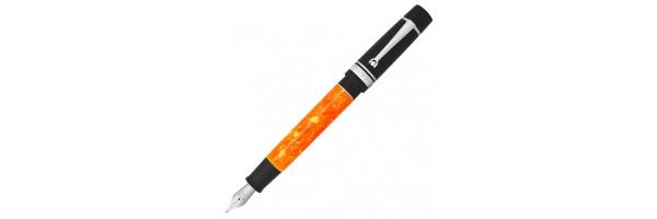MarteModena - Dolcevita Federico - Orange-Black RH - Stilografica / Roller Convertible