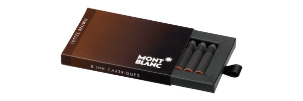 Montblanc - Fountain Pen Cartridges - Toffee Brown