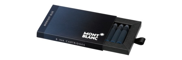 Montblanc - Fountain Pen Cartridges - Midnight Blue